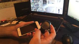 Movado Bold Motion Pairing with IPhone Review/Unboxing (Smartwatch)