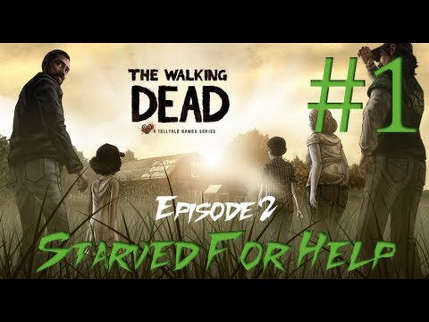 The Walking Dead: The Game - Episode 2 - Starved For Help - Part 1 [HD]