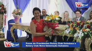 Reprise-Posse de Presidente do Roraty Club e Rotary Nova Geração