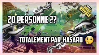 FORTNITE : UNE GAME RARE ??!!