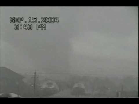Hurricane Ivan Tornado Panama City Beach Florida Youtube