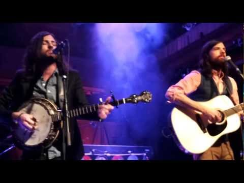The Avett Brothers live - The New Love Song (Scott changing lyrics) - @ Fabrik in Hamburg 2013-03-05