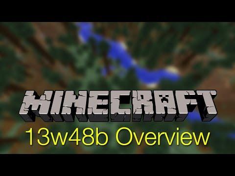 Minecraft 13w48b Overview