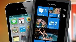 Nokia Lumia vs iPhone 4 (Design)