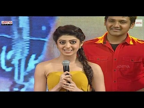Pranitha Cute Speech in Telugu - Alludu Seenu Audio Launch - Samantha, Srinivas, DSP