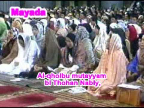 Cahaya Rasul Mayada - Al Qholbu Muttayam video