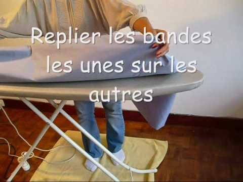 Repassage draps housse femme de m nage take youtube for Housse de repassage