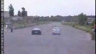 street racing keiv ukraine Ferrari vs Mercedes Benz