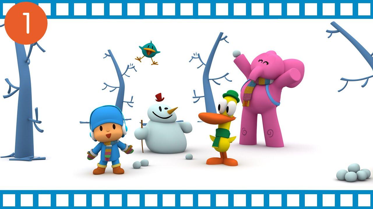 Pocoyo mezz ora di cartone animato per i bambini youtube