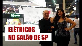 Elétricos do Salão do Automóvel de São Paulo - com Carros com Camanzi
