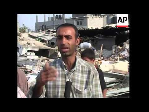 Damage in Gaza after Israli army withdraws; Israeli cabinet meeting