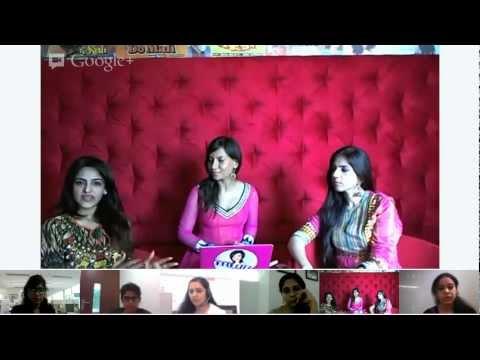 Google India - Festive Hangout with Miss Malini!