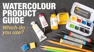 Different Types of Watercolour Products