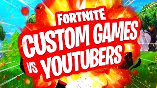 2 VS 2 FORTNITE CUSTOM KEY GAMES TEGEN YOUTUBERS!!  Fortnite Battle Royale LIVE