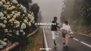Download lagu ruth b. - dandelions (tiktok version) I'm in a field of dandelions + lyrics in the description