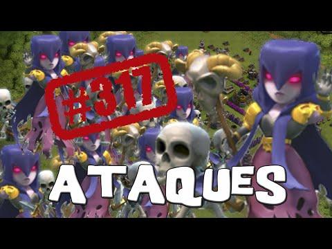 Salta, salta... Todo brujas   Ataques   Descubriendo Clash of Clans #317 [Español]