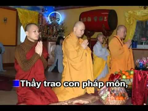 Kỷ Niệm Ngày Xuất Gia - Karaoke (Nhạc Phật Giáo chế lời)