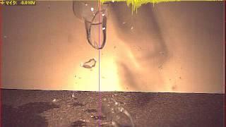 ハイスピードカメラ+データロガー 「ビンの落下」