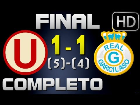 Universitario vs Real Garcilaso | Partido Completo 18-12-2013 | Final Copa Movistar 2013