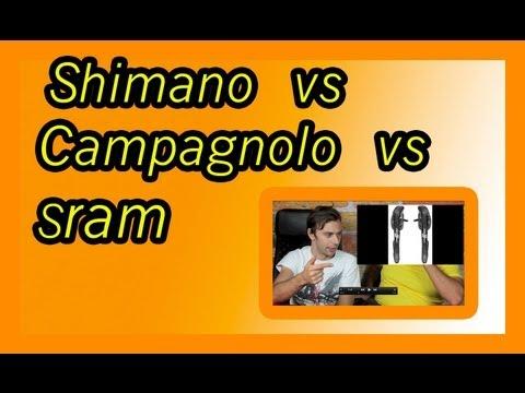 Sram vs Shimano vs Campagnolo -  il migliore??