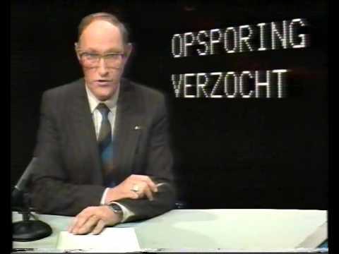 Avro Opsporing Verzocht promo 1985