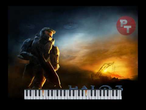 Halo 3 - Never Forget Piano Tutorial