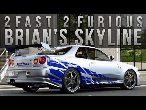 Fast 5 Cars Nissan ▶ Forza 5 Fast Furious Car