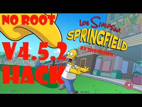 v4.5.2] Los Simpsons Springfield After Halloween Hack Rosquillas