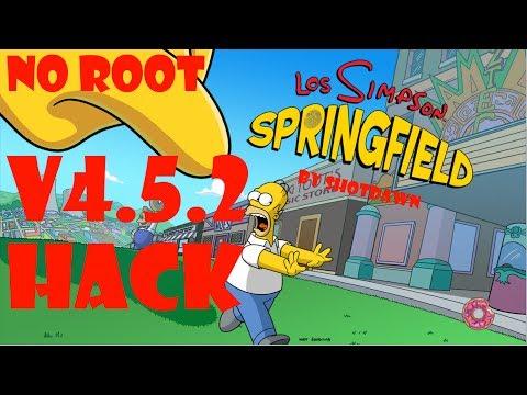 Obtener Donas Infinitas Y Dinero Infinito En Los Simpson Springfield