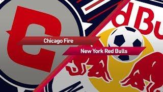 Highlights: Chicago Fire vs New York Red Bulls | October 25, 2017