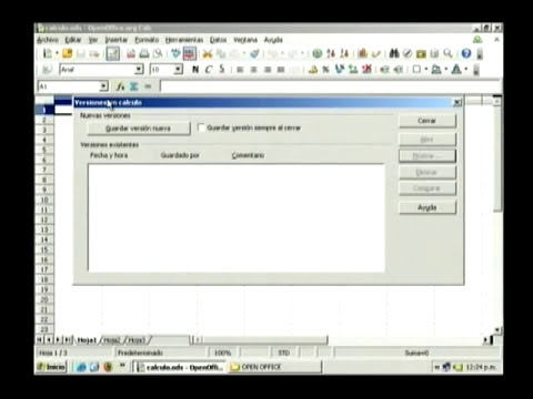 Curso Open Office - Introducción a Calc