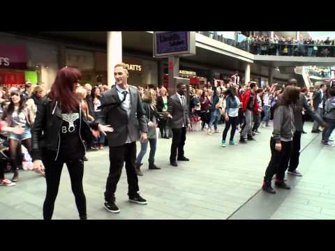 Liverpool ONE flash mob