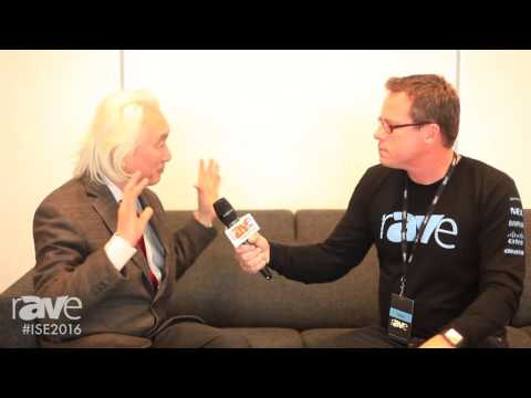 ISE 2016: rAVe Founder Gary Kayye Interviews Michio Kaku, Futurist and Theoretical Physicist