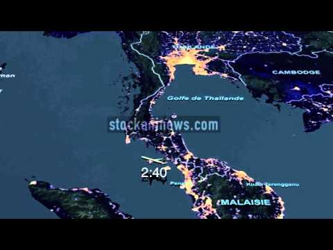 MALAYSIA  AIRLINES FLIGHT MH370 PATH