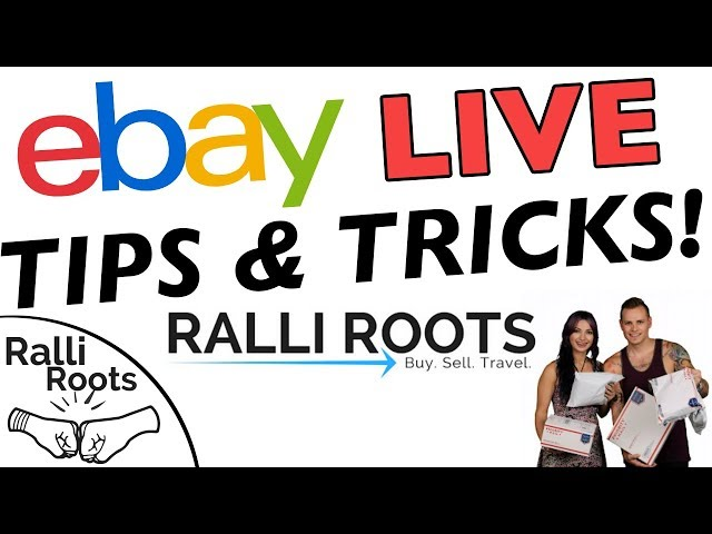 HOW TO MAKE MONEY ON EBAY IN 2018  RALLI ROOTS LIVE