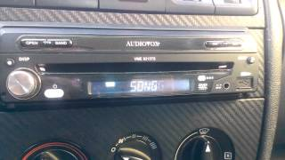 Audiovox VME-9315TS Operating
