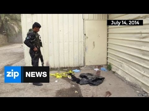 At Least 29 Dead in Baghdad Attack - July 14, 2014