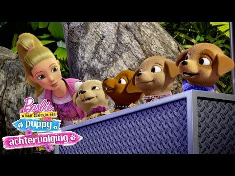 Barbie & haar zusjes in een puppy-achtervolging - Trailer | Barbie