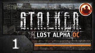 СТАЛКЕР. Lost Alpha. Developer's Cut. Прохождение. #01 Проверка на вшивость.