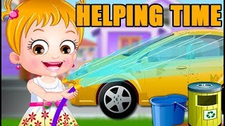 Baby Hazel Helping Time | Fun Game Videos By Baby Hazel Games