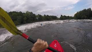9/11/18 Steve Wade at Mill Race, Saluda River