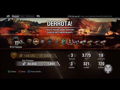 World of Tanks XBOX Centennial primeira partida