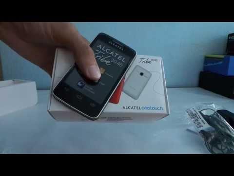 Alcatel One Touch Tribe OT-3040 telefon kicsomagoló videó   Tech2.hu