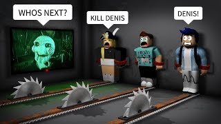My own fans BETRAYED ME in Roblox SAW!