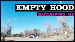 GHETTO ABANDONED IN HATTIESBURG MISSISSIPPI