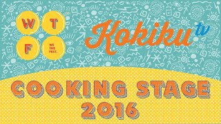 Event: Kokiku TV Cooking Stage 2016