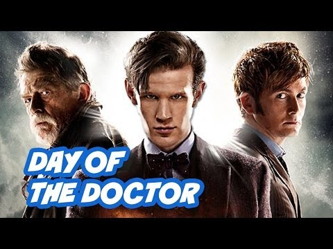 Doctor Who 50th Anniversary Episode Review - The Day Of The Doctor