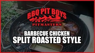 BBQ Chicken Split Roasted Style Barbecue Recipe