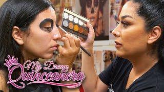 Day of the Dead Makeup | My Dream Quinceañera - Reunión Ep 6