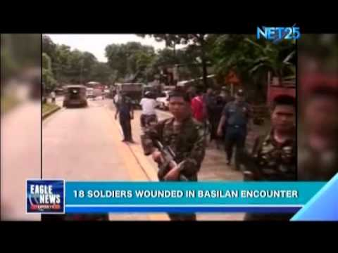18 soldiers wounded in Basilan encounter
